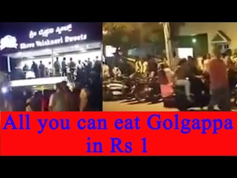 Mysore restaurant sells 'Golgappa' for Rs 1, Watch long queue | Oneindia News