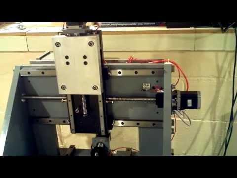DIY CNC Mill First Run