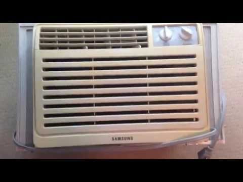 How To Install An AC Air Conditioner In A Window