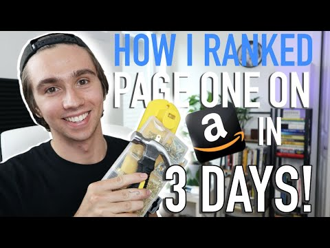 How I Ranked My New Amazon FBA Product on Page One in 3 Days With PPC!   Step by Step PPC Launch