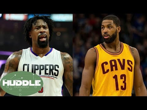 DeAndre Jordan to the Cavs for Tristan Thompson?!  The Huddle