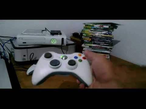Xbox 360 destravado com mais de 60 jogos 2 controles e for Hd esterno xbox 360