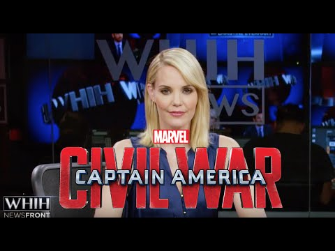 Christine Everhart Reports AVENGERS IMPACT in Captain America Civil War Viral Video