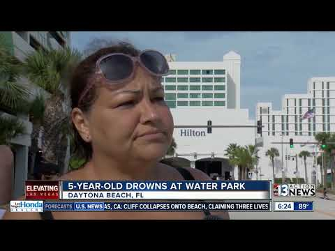 5-year-old Boy Drowns At Waterpark