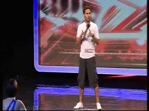 danyl johnson audition video on x factor simon cowell standing ovation youtube. Black Bedroom Furniture Sets. Home Design Ideas