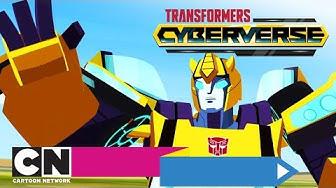 Transformers: Cyberverse | Die Falle (Ganze Folge) | Cartoon Network