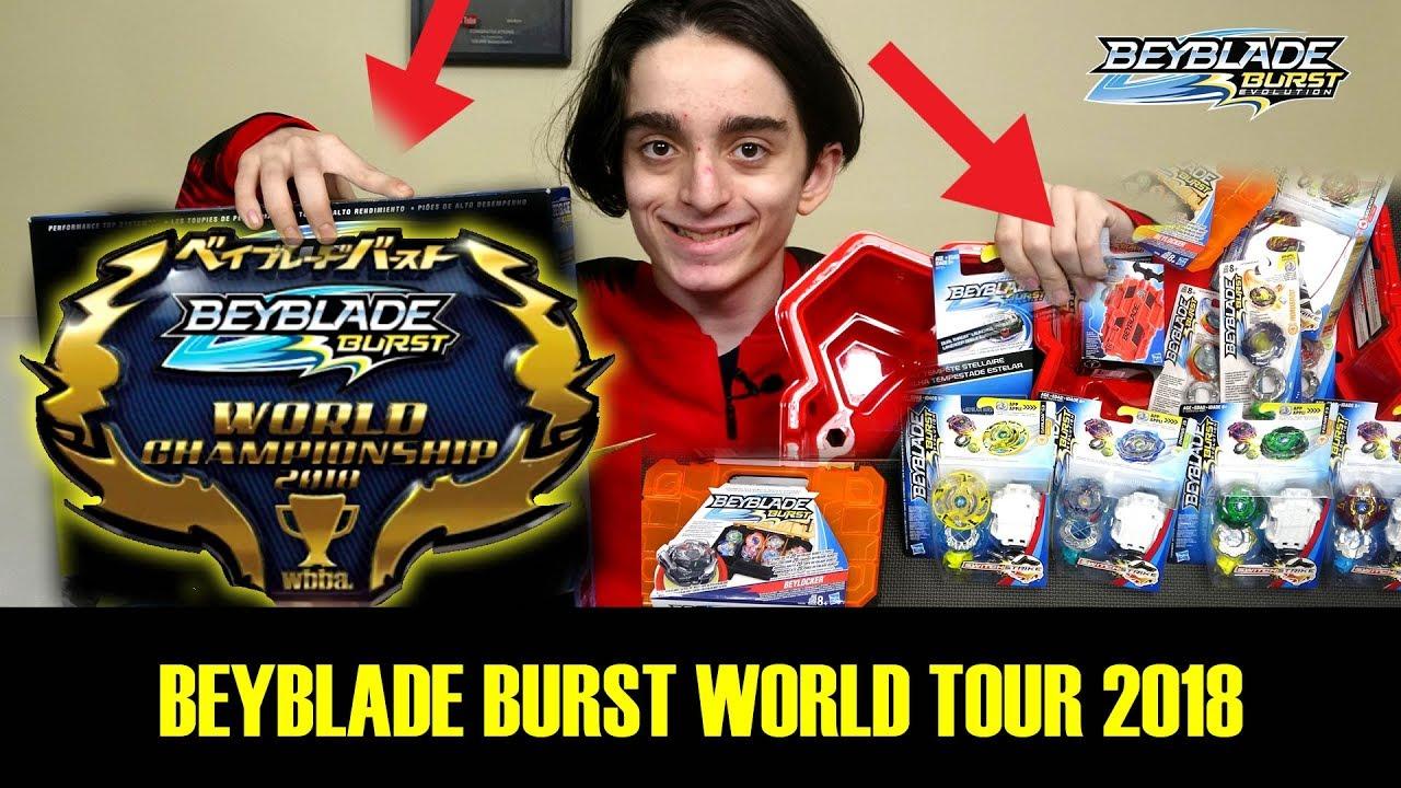 Beyblade world championship prizes for mega