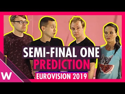 Eurovision 2019: Semi-Final 1 qualifiers (Prediction before jury show)