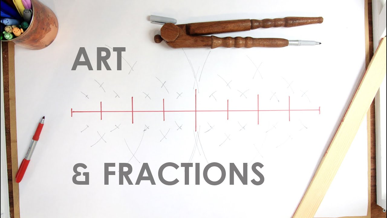 worksheet Measuring Fractions measuring math and the art of fractions youtube fractions