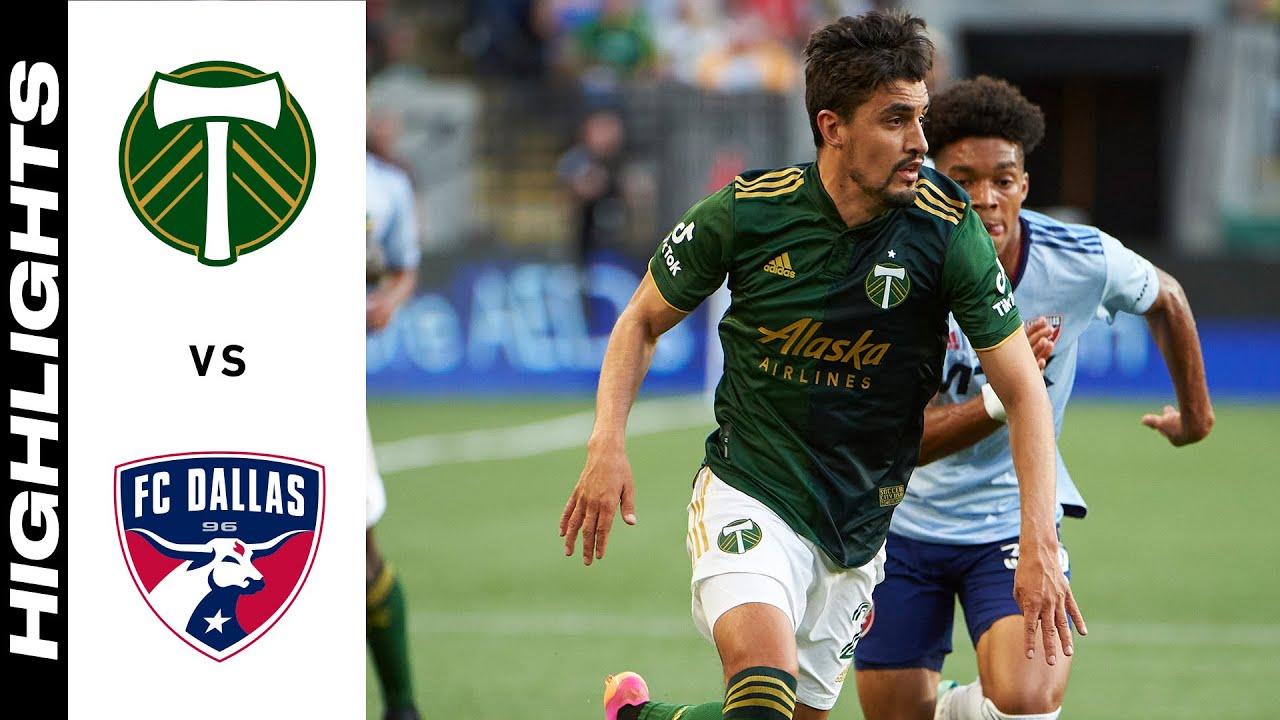 Download HIGHLIGHTS: Portland Timbers vs. FC Dallas   July 17, 2021