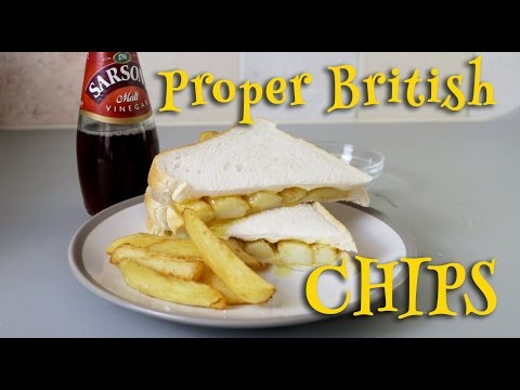 How To Make British Chips