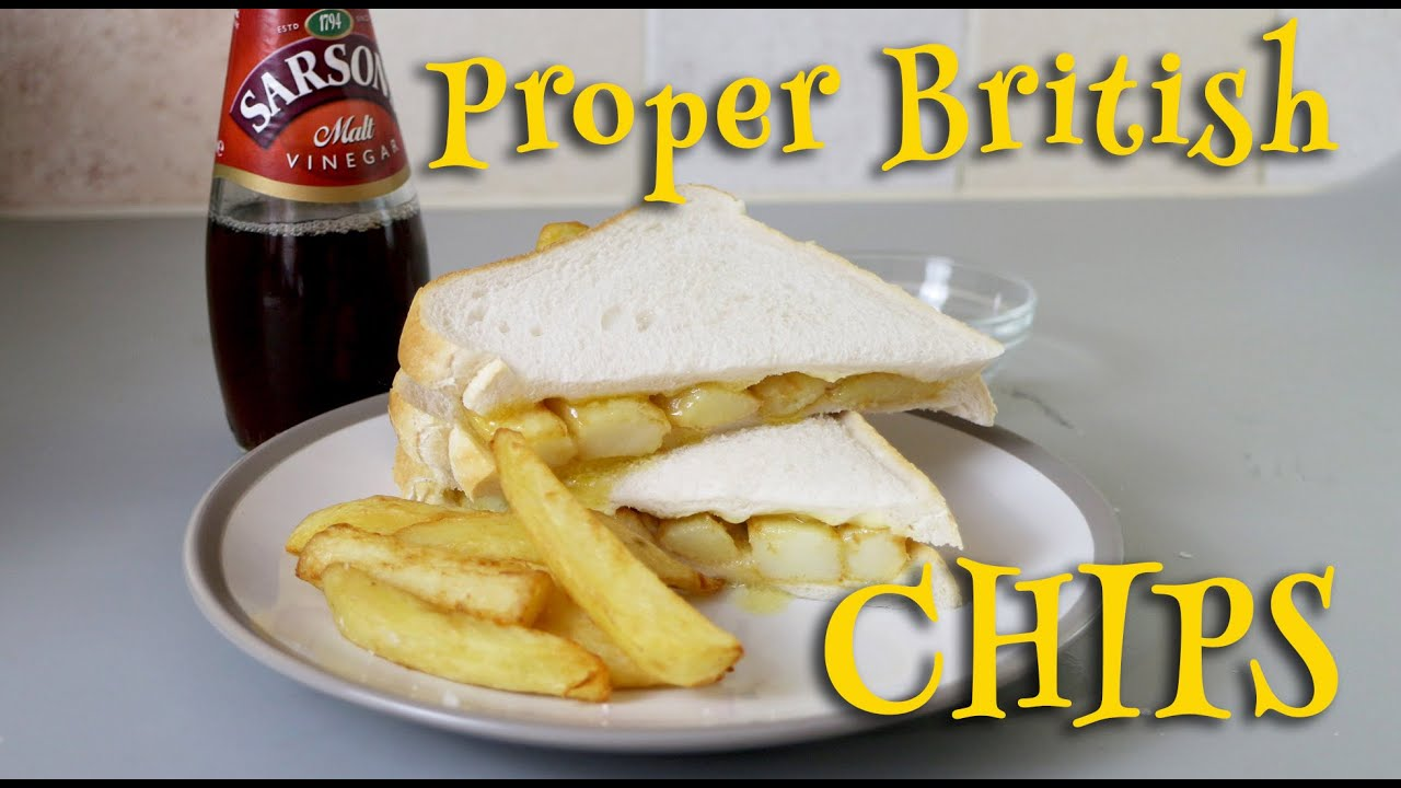 How to make British Chips - YouTube