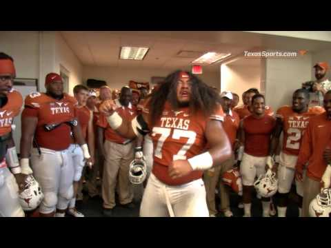 Patrick Vahe's postgame locker room celebration: OU [Oct. 15, 2015]