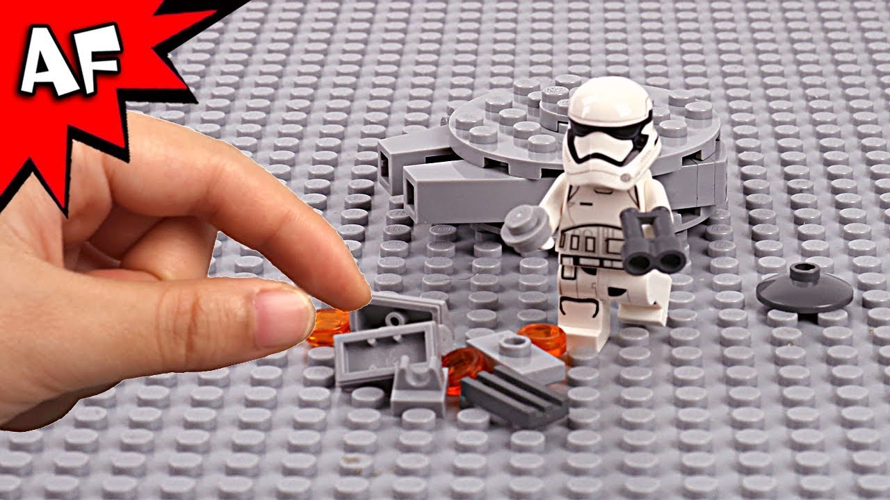 Lego Star Wars Brick Building the Millennium Falcon with ...