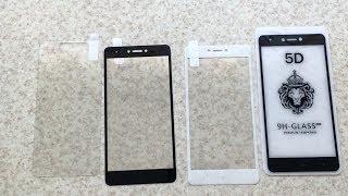 Обзор видов стёкол на телефоны с 2.5D экранами. 2D 3D 5D - преимущества и недостатки