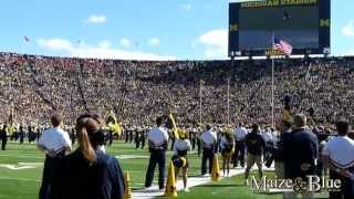 Double flyover at Michigan Stadium