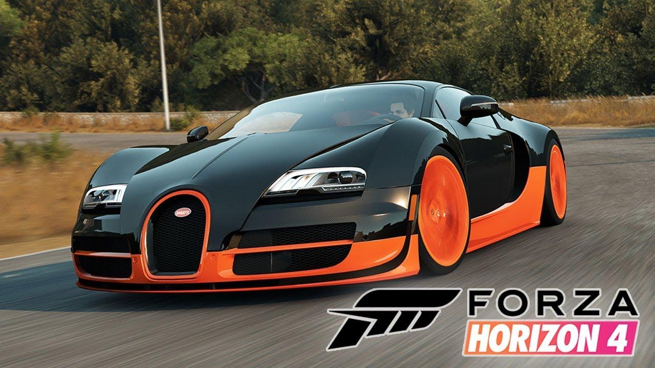 Forza Horizon 4 Bugatti Veyron O Adder Do Gta V Carro Milionario