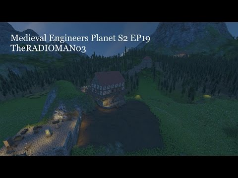"""Medieval Engineers Planet S2 EP19 """"Warehouse"""""""