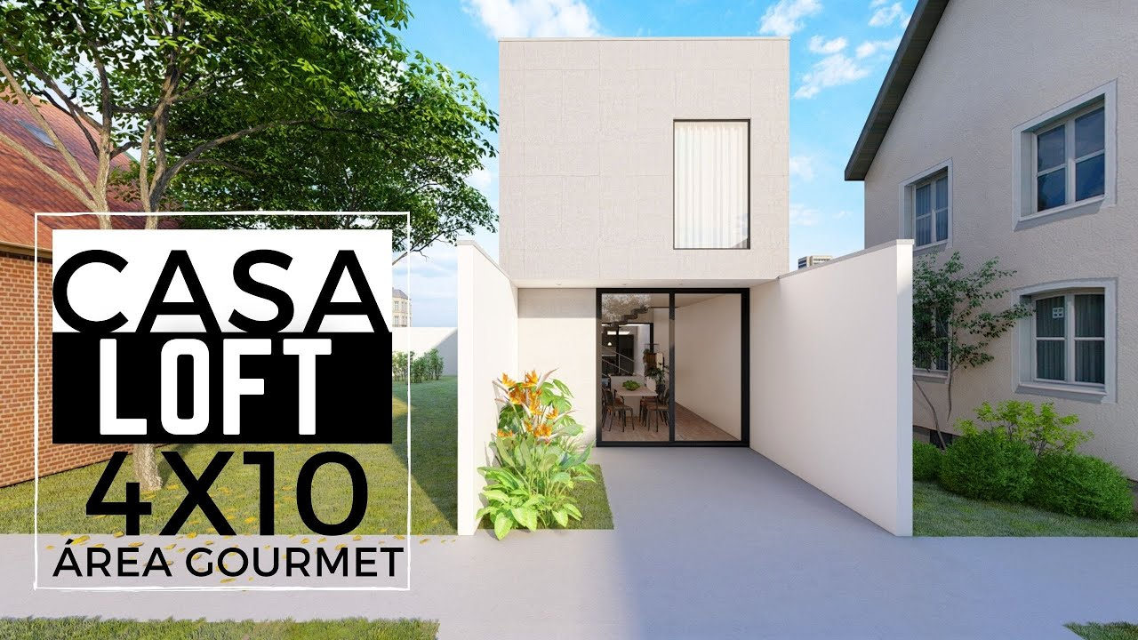 Download LOFT 4X10 METROS COM ÁREA GOURMET