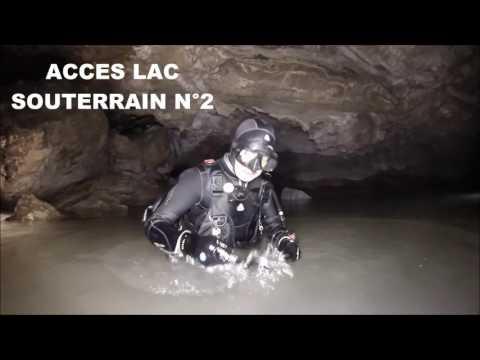 Plongée souterraine à Sierre en Suisse