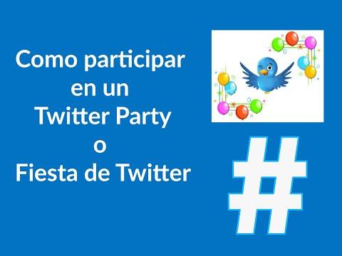 Como participar en las Fiestas de Twitter