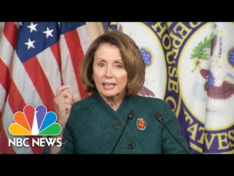 Nancy Pelosi: Stunning 'White Supremacist' Named To Security Council | NBC News
