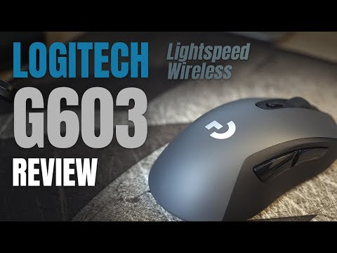 Mouse Logitech G603 Lightspeed Wireless: Unboxing & Review !