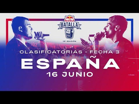 Clasificatorias España 2021: Día 3   Red Bull Batalla