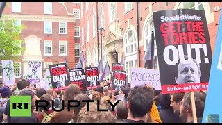 LIVE: Tens of thousands descend on London for anti-austerity rally