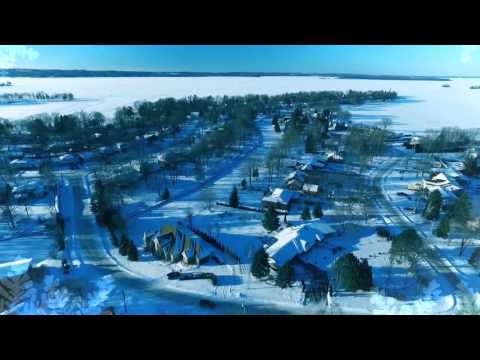 Winter above Orillia