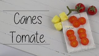 Canes Tomate / Tomato Cane  (Tuto Fimo / polymer clay)