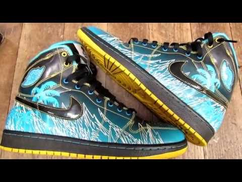 JORDAN 1 DOERNBECHER SNEAKER REVIEW (@SCOOP208)