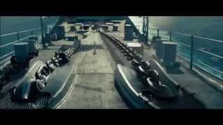 ブンチャカヤマト♪で戦艦ドリフト (ミズーリ渦中へ) バトルシップ 検索動画 6