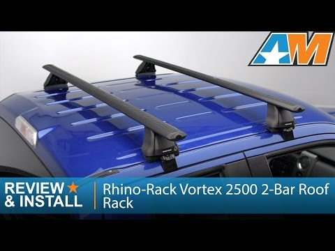 2004-2014 Ford F-150 Rhino-Rack Vortex 2500 2-Bar Roof Rack (SuperCab, SuperCrew) Review & Install