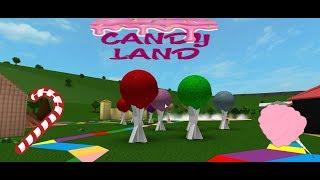 Roblox bloxburg Speed Build CANDY LAND!