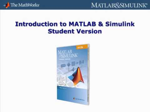 MATLAB & Simulink Student Version - math software for engineering and science students.flv