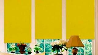 Установить жалюзи (тканевые, рулонные ролеты) на окно(а)(, 2015-10-01T05:10:25.000Z)