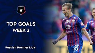 Top Goals Week 2 RPL 2020 21