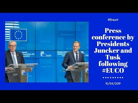 Special European Council (Article 50): Press Conference
