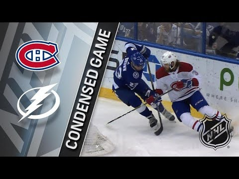 Montreal Canadiens vs Tampa Bay Lightning – Dec. 28, 2017 | Game Highlights | NHL 2017/18. Обзор