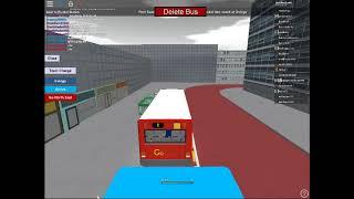 Apsley Bus Simulator Gameplay - Roblox