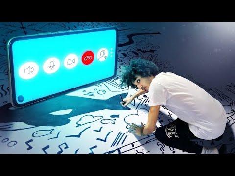 Disegno durante la VIDEOCHIAMATA più lunga DEL MONDO - RichardHTT