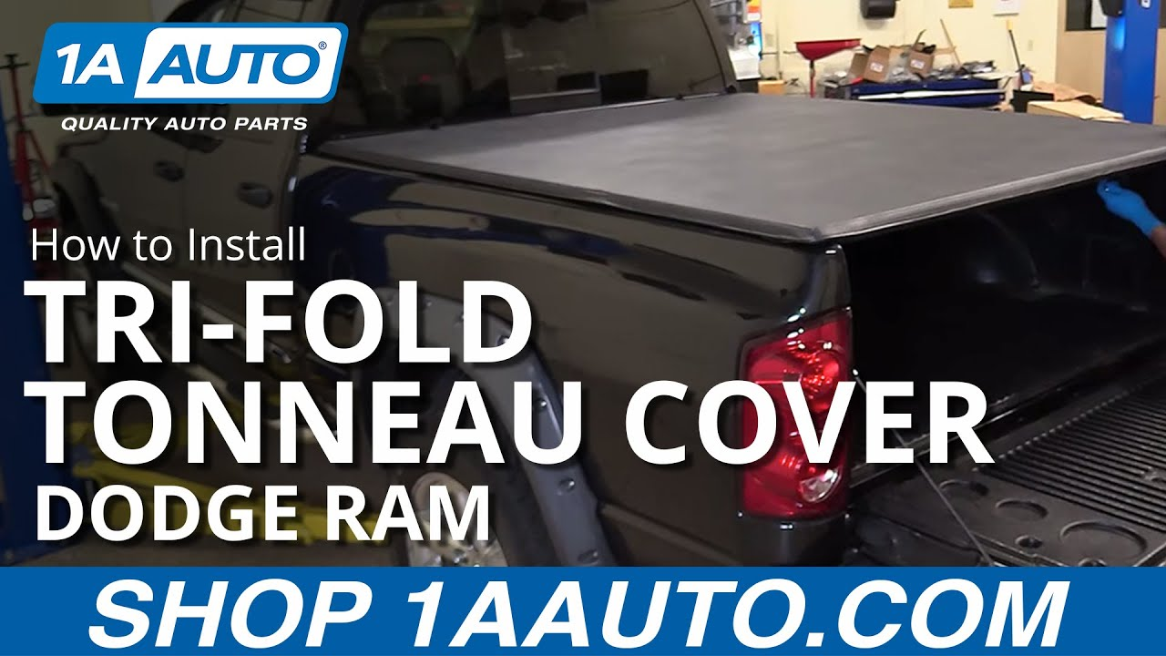 How To Install 6 1 2 Foot Soft Tri Fold Tonneau Cover