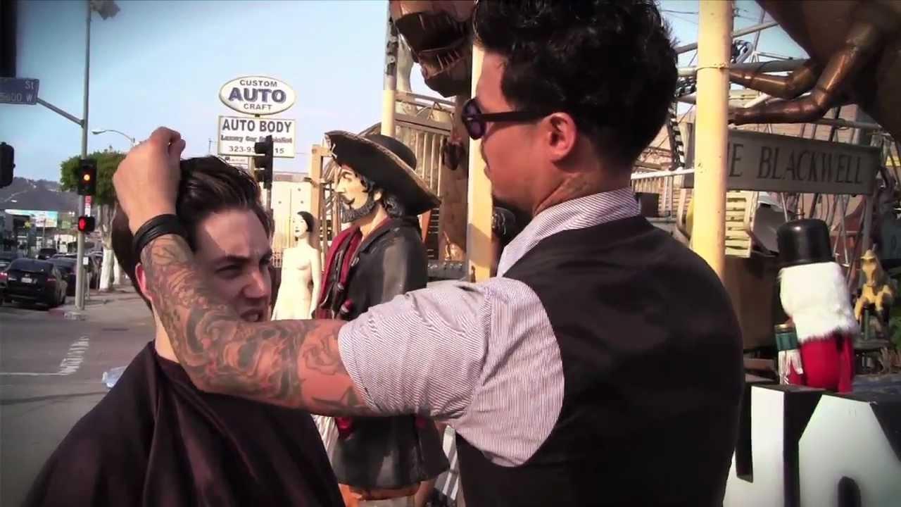 Daniel alfonso street styling at nick metropolis men 39 s for Nick s hair salon