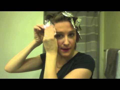 Tin Foil Curl Youtube