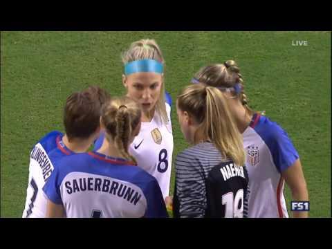 (2) USWNT vs Netherlands 9.18.2016