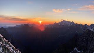 Vysoké Tatry - Rysy - Východ slunce - Červenec 2020