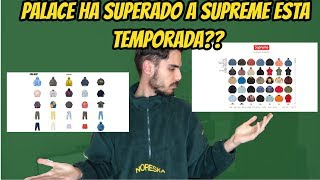 SUPREME VS PALACE, QUIÉN LO HA HECHO MEJOR ESTA TEMPORADA? DAY BEFORE THE HYPE