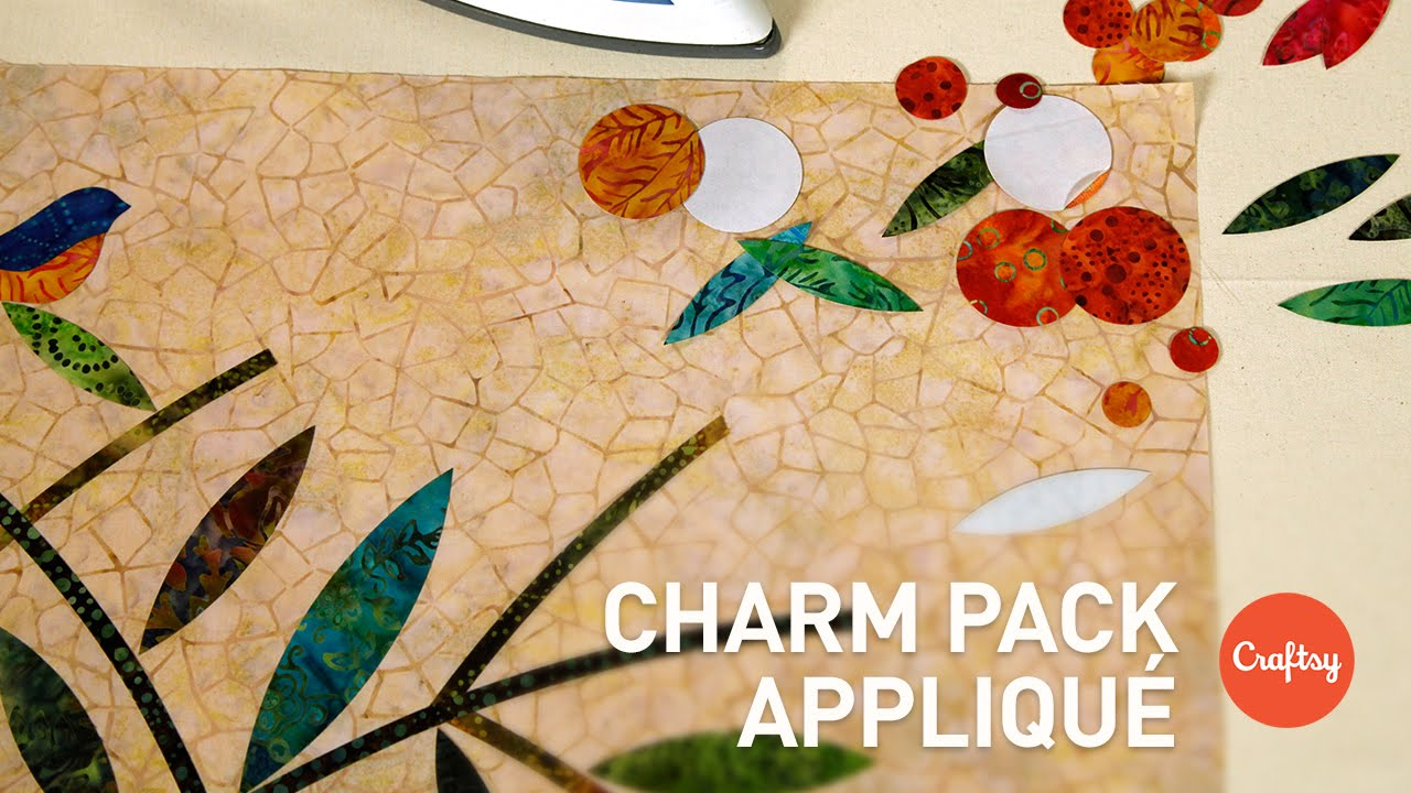 Charm pack appliqué stashbusting precut ideas quilting