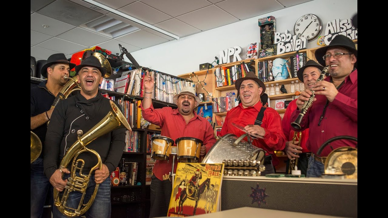 Fanfare Ciocarlia Npr Music Tiny Desk Concert Youtube